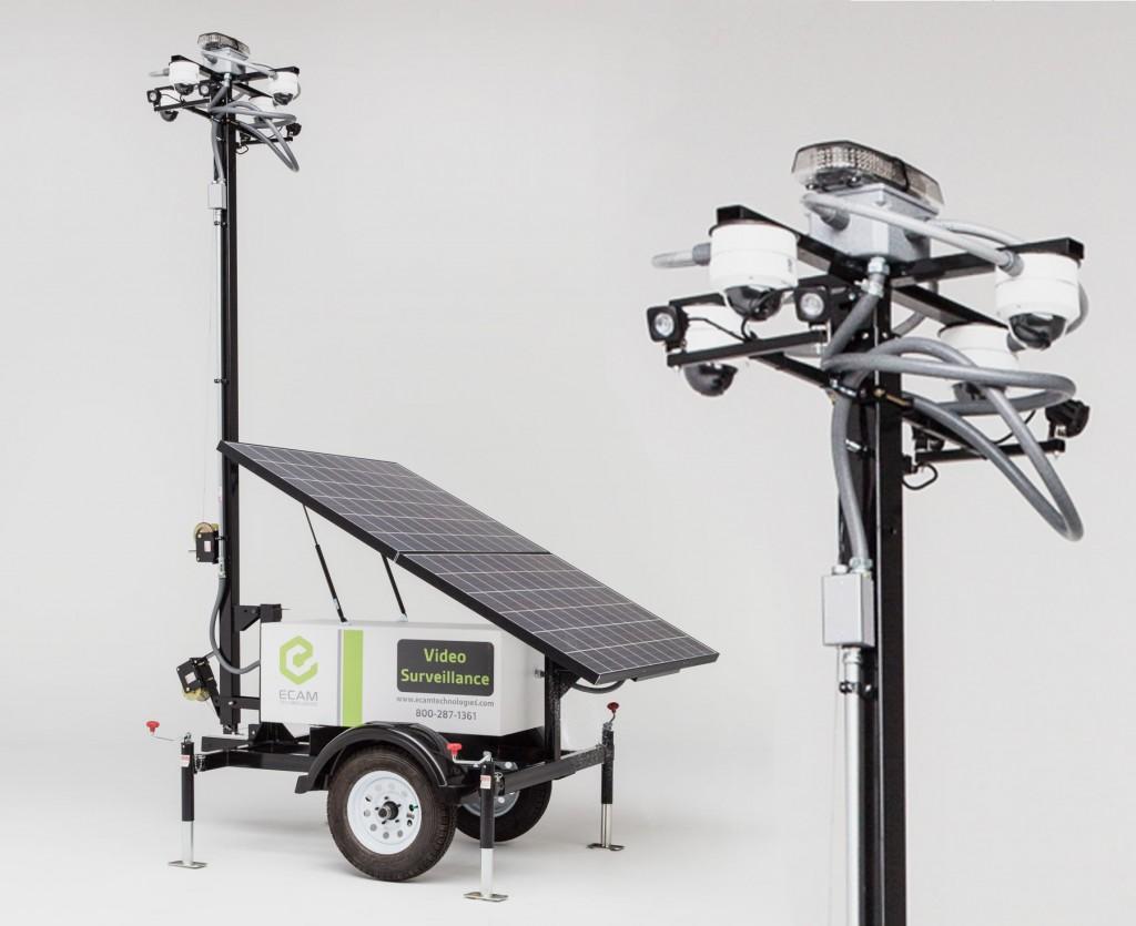 Solar Mobile Surveillance Unit Pro