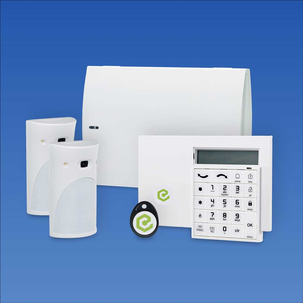 SmartView Wireless Burglar Alarm System