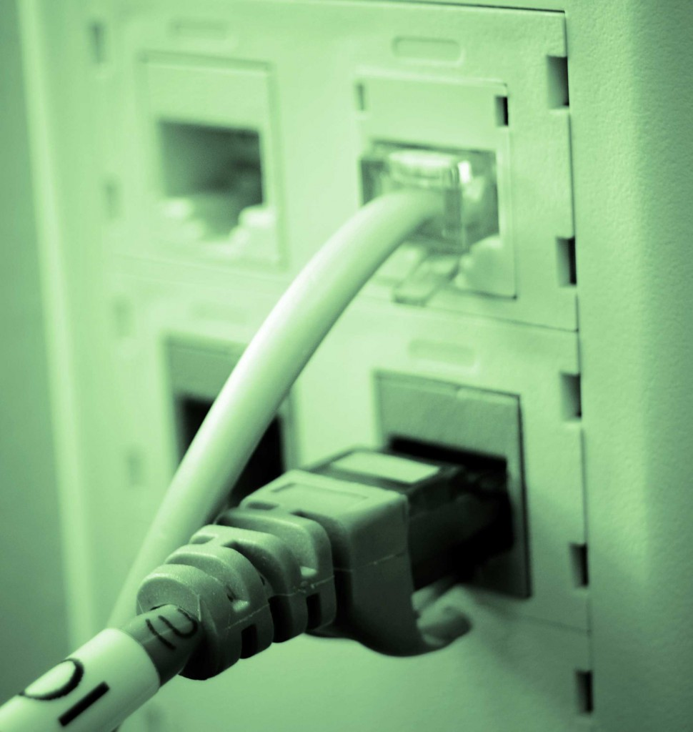 Data Drop Work Area Outlets