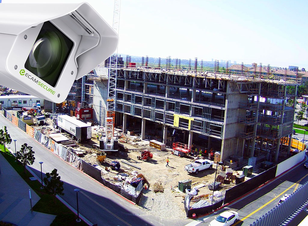 Time Lapse Construction Security Camera