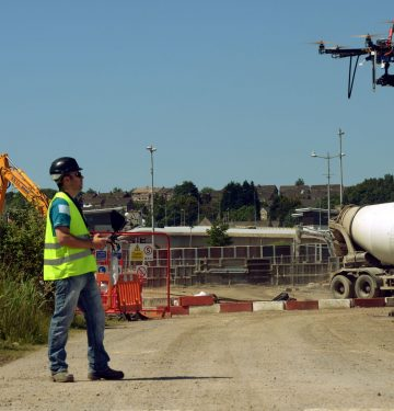 Drones and Construction Sites
