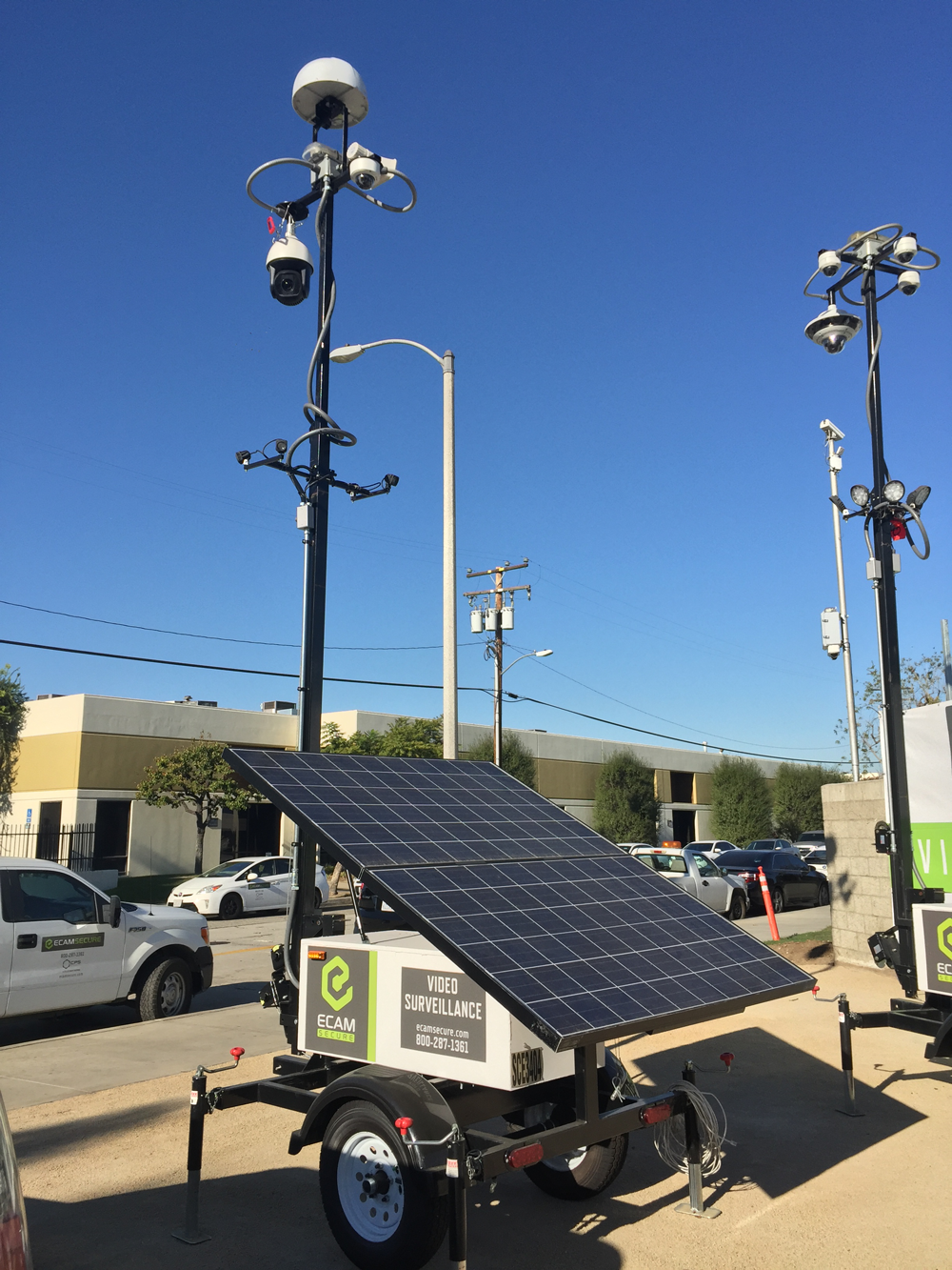 Mobile Surveillance Units Ecamsecure