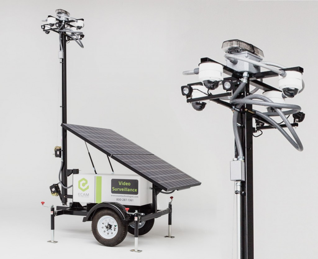 Solar Mobile Surveillance Unit Pro