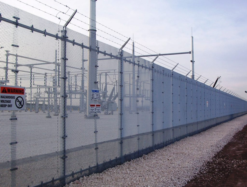 Electrical Substation Parimiter Security