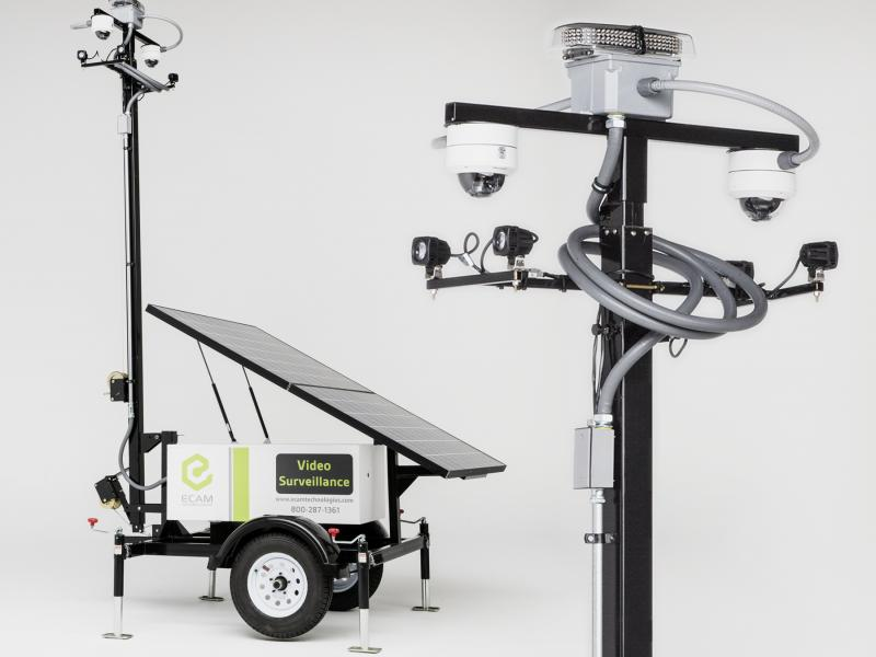 Standard Solar Mobile Surveillance Unit