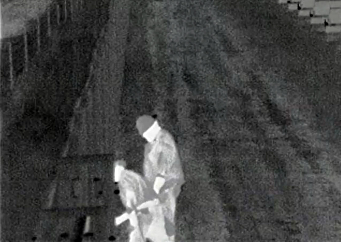 Thermal Security Camera Image