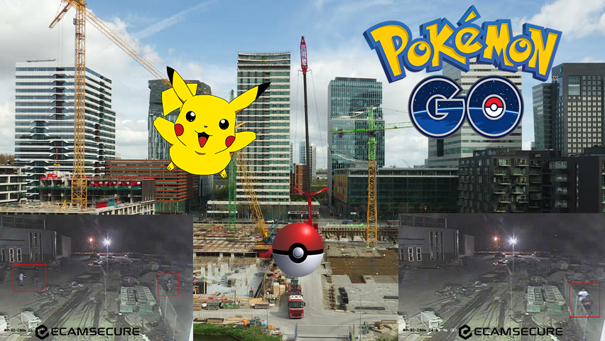 Pokemon Go on Construction Sites