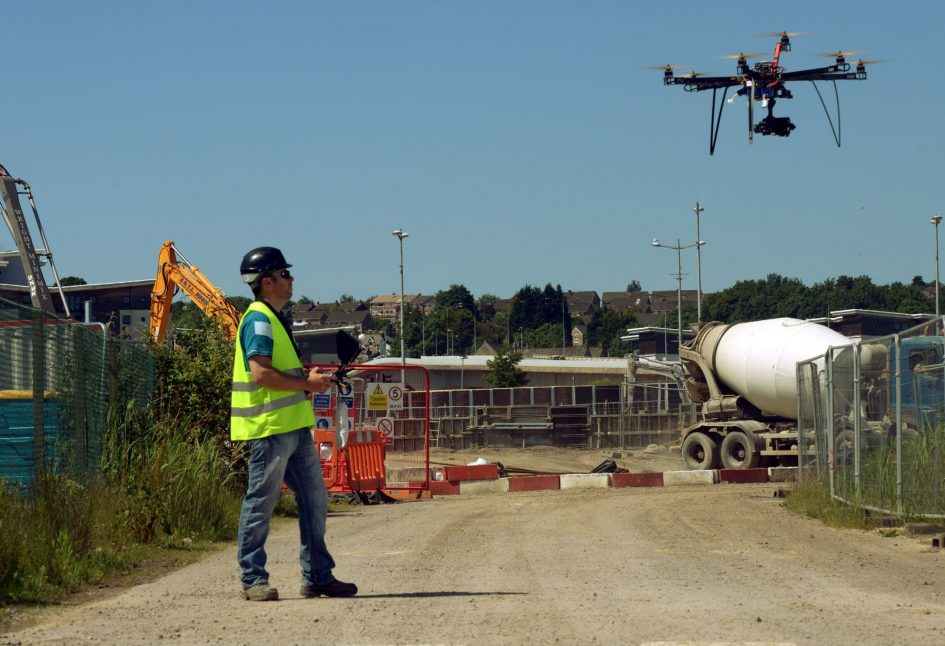 Construction Security Drones