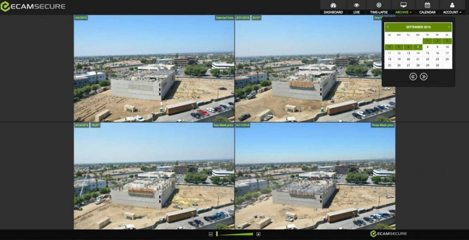 Construction Time Lapse Software