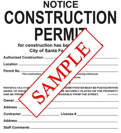 Construction Permit Extention