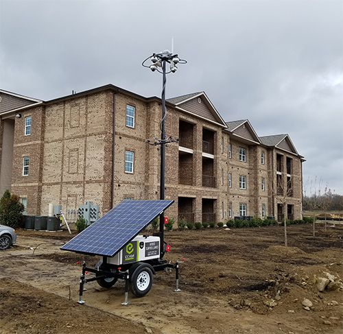 Pro Solar MSU on Construction Site