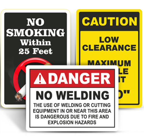 OSHA Compliant Safety Signs