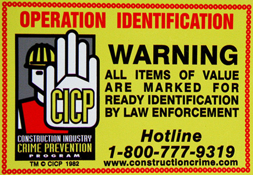 owner applied identification numbers