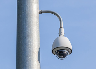 Elevated Security Camera Placement