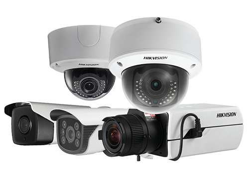 Various Security Cameras