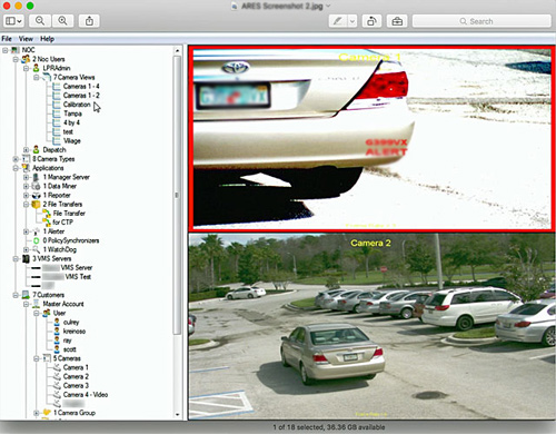 License Plate Recognition Software for Security Applications