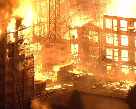 Arson at a Construction Site