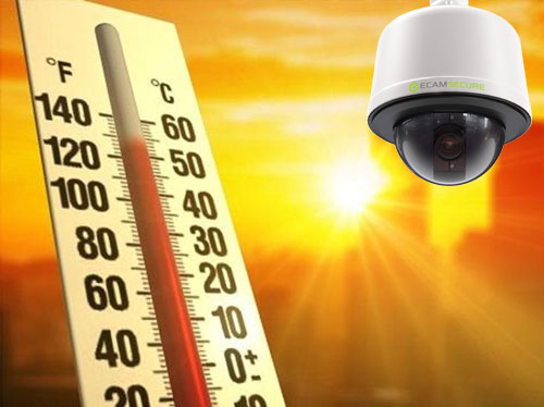 Security Camera in Extreme Heat