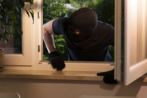 Weak Entry Points Lure Burglers