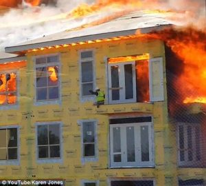 Builders Risk Protects Against Fire